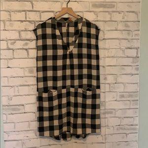 Mittoshop flannel T-shirt dress